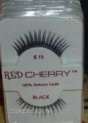 RED CHERRY 100% HUMAN HAIR EYELASHES-STYLE 15