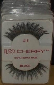 RED CHERRY 100% HUMAN HAIR EYELASHES-STYLE 5